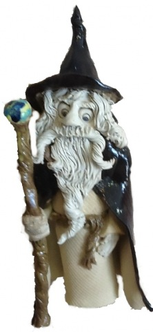 Large Wizard with staff